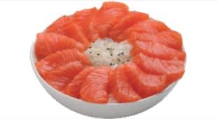 Chirashi saumon x12