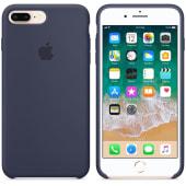 Coque Original Apple en silicone Bleu Nuit