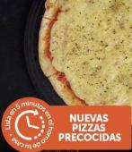 2 Pizzas Grande Muzza Pre-Cocidas