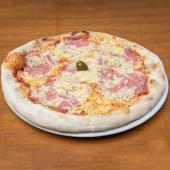 Pizza Vesuvio + Coca Cola