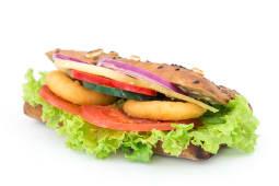 Vege onion sendvič