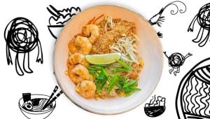 Локшина Pad Thai з креветками (390г)
