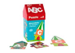 Puzzle Casinha Abc Apli 40pcs 14805