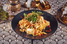 Stir fry Sukiyaki glass noodle