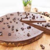 Ración tarta de chocolate