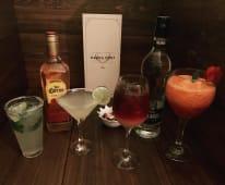 Rum y cola (16 oz.)