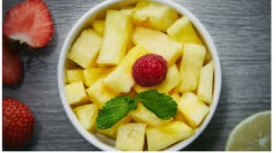 Ananas plein de soleil