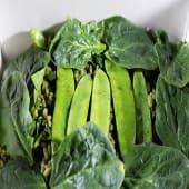 Arroz de verduras verdes