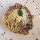 Spaguetti Salsa Funghi