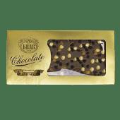 Ručno rađena mliječna čokolada s lješnjakom i bademom 300g