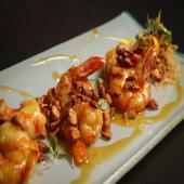 Langostinos shrimp passion