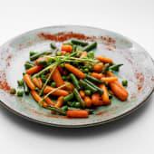 Глазуровані овочі