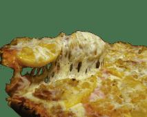 Combo pizza caribeña mediana