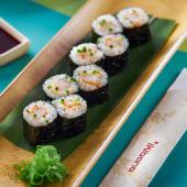 Maki de langostinos Spice ebi (8 piezas)