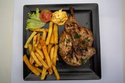 1/2 Chicken combo