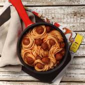 Red Sauce Pasta with Dawood Basha Kofta باستا بالصوص الاحمر و كفتة
