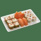 Menu fish & herbs