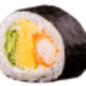 Futomaki salmone spring