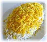 Kuhana iranska bijela riža
