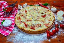 Pizza Carbonara mare