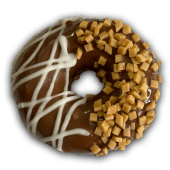 კარამელის დონატი - Caramel donut
