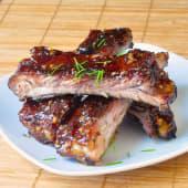 Honey Glazed Garlic Pork