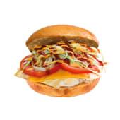 Pollo Cheeseburger