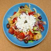 Salata cretana de post