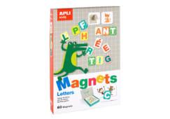 Jogo Animais Letras Magneticas Apli 60pcs 16816