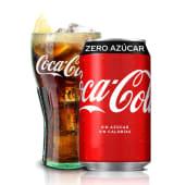 123. Coca-Cola Zero Azúcar lata 330ml.