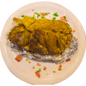 Half Mandi Goat with Rice