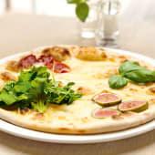 Pizza Quattro Formaggi de L´Alpe