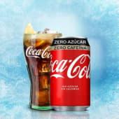 Coca-Cola Zero Azúcar Zero Cafeína lata 330ml.