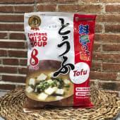 Sopa de tofu (sin gluten)