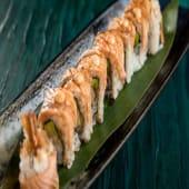 Salmon-Ebi Uramaki