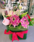 Sushi flower pink