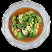Броколі з устричним соусом та часником (200г)