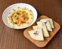 Hummus Tradicional Con Pan Pita