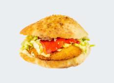 Sandwich snitel de pui