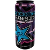 Rockstar energy drink blue raspberry 0.33l