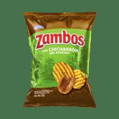 Zambos Plátano con Chicharrón 138g