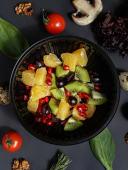 Салат фруктовий (200г)