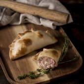 Empanada di Prosciutto Naturale Ecologico e Mozzarella