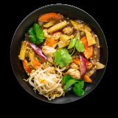 Креветка в кисло–солодкому соусі