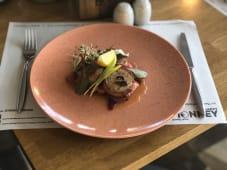Свинна вирізка з солодкими овочами (300г)