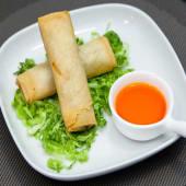 Rollos vegetarianos (4 uds.)
