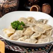Варенички з картоплею та грибами (200/50г)