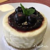 Cheesecake personal de Arándanos (8 cm.)