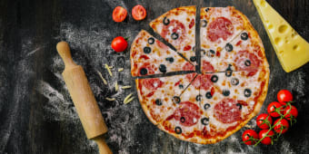 Піца Палермо (470г)