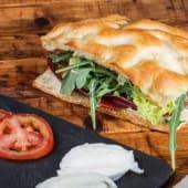 Sandwich Giuseppito de pavo